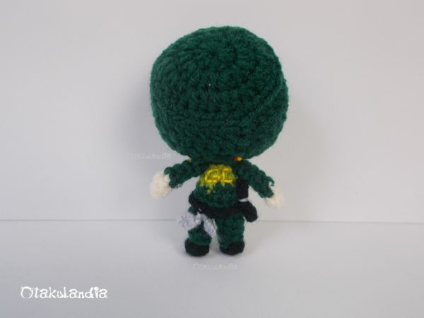 Guardia Civil - llaverito en crochet